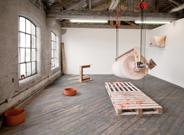 Katharina Fitz, Austrian artist, When Seams Become Audible, site-specific installation